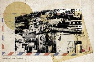 postcard of Porto