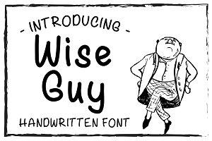 Wise Guy Handwritten Font TTF OTF