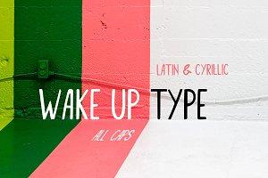 Wakeup font
