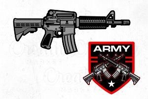 Army Logo Templete