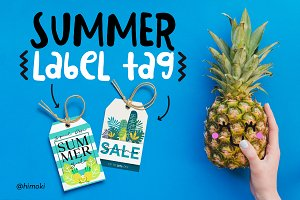 Summer label tag