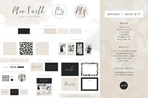 Logo, Brand, Blog & Web Kit
