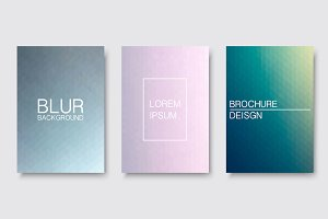 Abstract blur backgrounds, covers