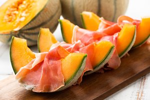 Melon and ham
