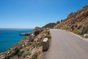 Coast in Almeria