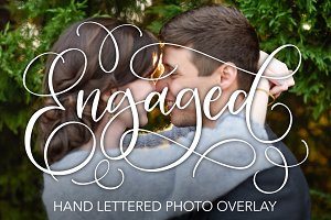Engaged Lettered Overlay
