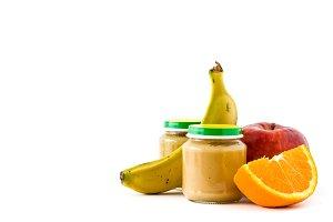 Baby food puree