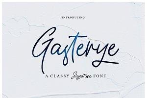 New Font_Gasterye Script