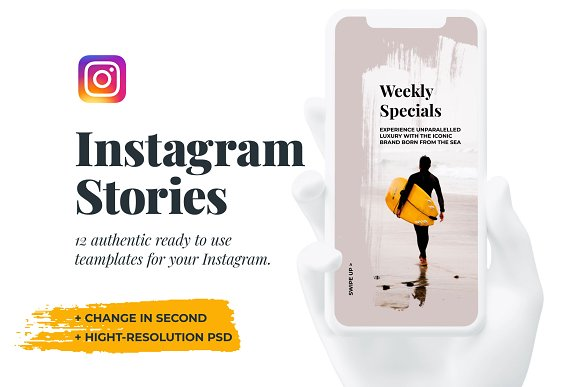 Searles — 12 Instagram Stories