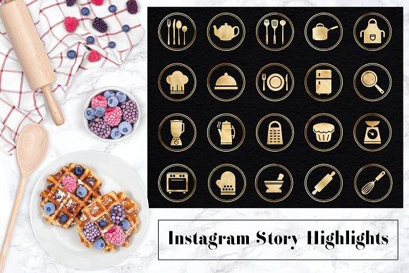 Instagram Story Highlight Icons in Social Media Templates