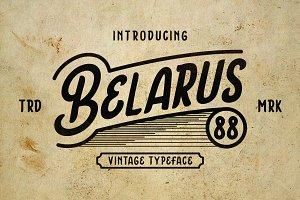 Belarus Tyepface