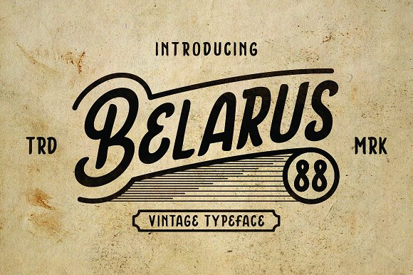 Belarus Tyepface in Display Fonts