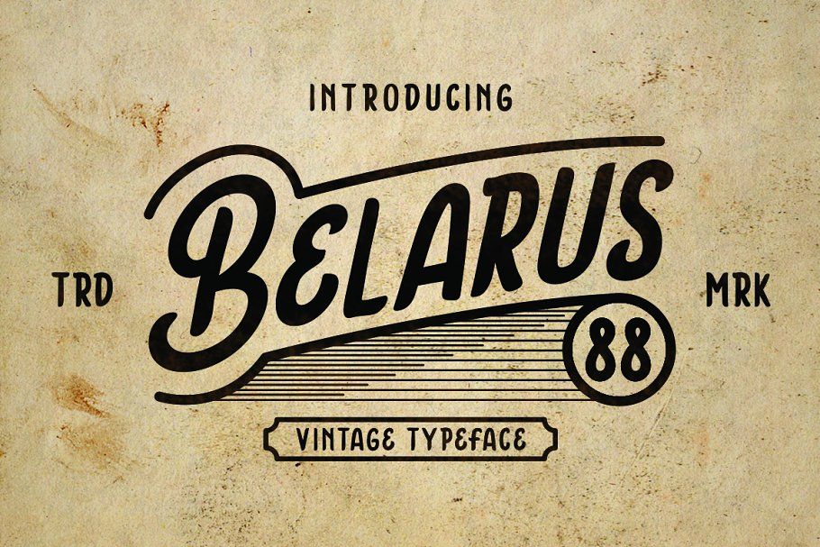 Belarus Tyepface in Display Fonts - product preview 8