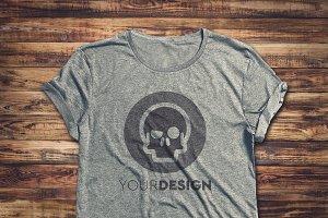 T-Shirt Mock-up #4