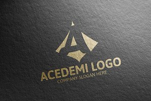 A Letter Logo 50% Discount!