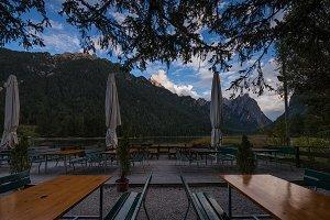 Dobbiaco or Toblacher lake, Dolomiti