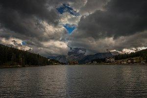Auronzo lake, Dolomiti, Italy