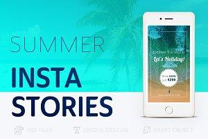 Summer Holidays Instagram Story #023