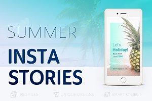 Summer Holidays Instagram Story #022