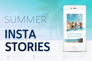 Summer Holidays Instagram Story #21