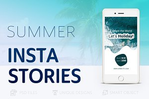 Summer Holidays Instagram Story #020