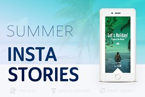 Summer Holidays Instagram Story #019