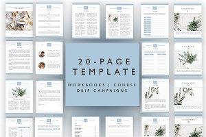 20-PAGE WORKBOOK INDESIGN
