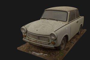 3d scan old german car