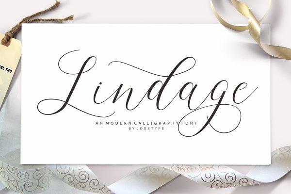Fonts - Lindage Script