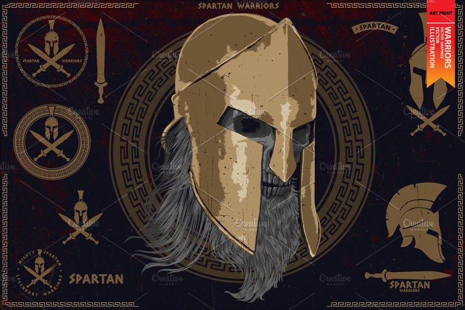 spartan mask template.html