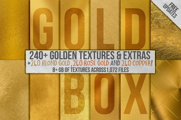 Gold Foil Textures, Gold Background…