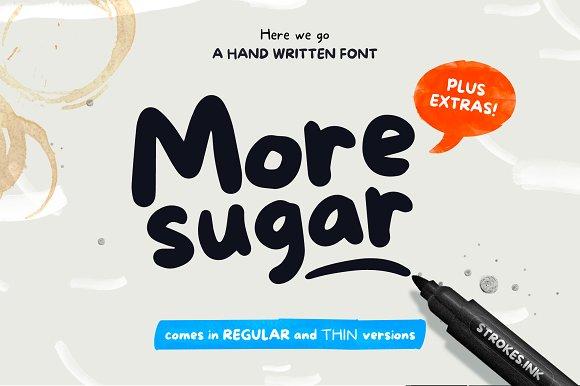 More Sugar Extras