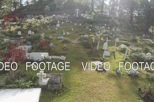 Catholic cemetery in the Philippines.