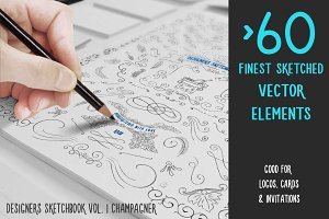 Finest Handsketched Vector Elements
