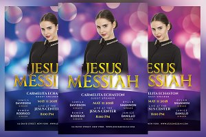 Jesus Messiah Church Event Flyer