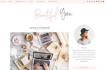 Pink Responsive Wordpress Theme