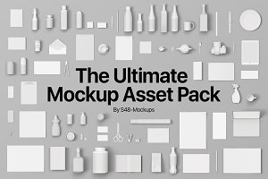 The Ultimate Mockup Asset Pack