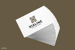 Xialine X Letter Logo