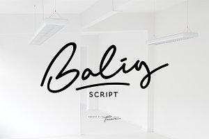 Balig Script (30% OFF)