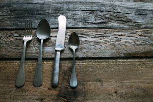 old silverware