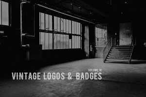 Vintage Logos & Badges vol. 10