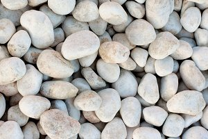 Background of Seashore Pebble