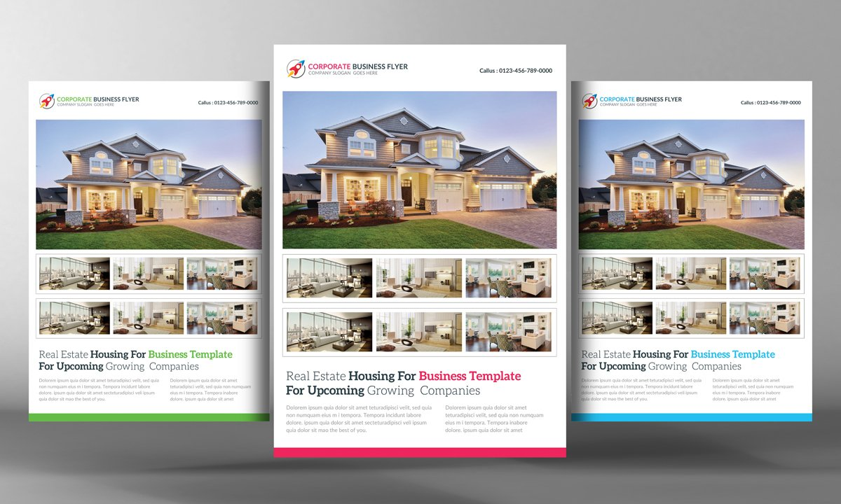 real estate flyer template v3 flyer templates on creative market real estate flyer template