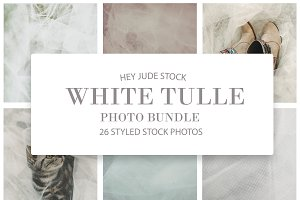 HEY JUDE STOCK | White Tulle_012