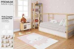 Carpets & Bed Set - Kids Room
