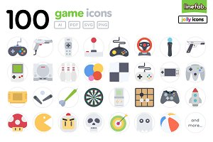 100 Game Icons - Jolly