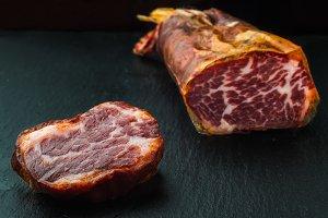 delicious Iberian pork loin