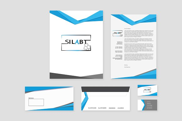 Business Branding Identity Bundle in Stationery Templates