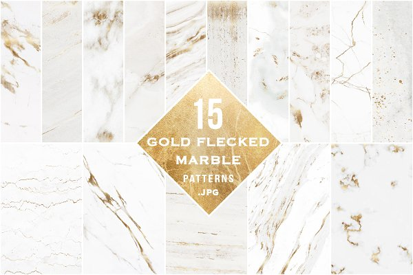 Gold Flecked Marble Texture Pack