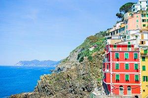 Riomaggiore in Cinque Terre, Liguria, Italy